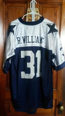 Roy Williams Dallas Cowboys Reebok Throwbacks screen-printed jersey size XL 3a9caf40b