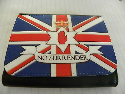 Ulster Loyalist No Surrender Loyalist Ulster Exclusive Tri Fold Wallet