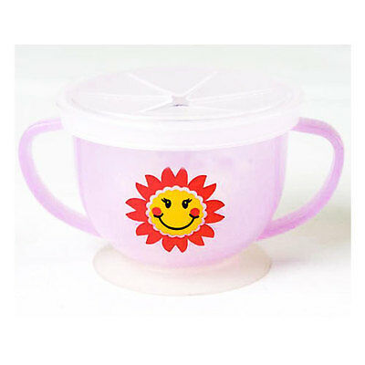 Baby Pink Snack Catcher Cup Baby Feeding
