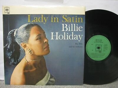 Billie Holiday - Lady in Satin UK LP CBS Realm