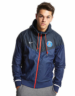 XL NIKE PSG WINDRUNNER JACKET Zip Pockets PARIS SAINT GERMAIN football Tags