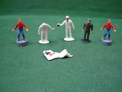 1960s TRIANG Spot On Tommy Spot x 2 + Soldier & 3 Mechanic Figures For Diecast