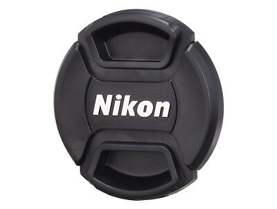 LC-49 front camera lens cap for NIKON 49mm filter thread - Snap-clips UK SELLER