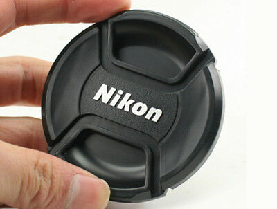 LC-52 front camera lens cap for NIKON 52mm filter thread - Snap-clips UK SELLER