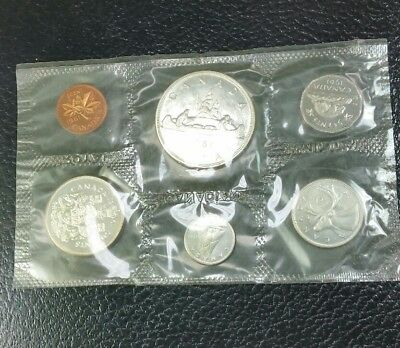 1961 Canadian Silver Mint Set