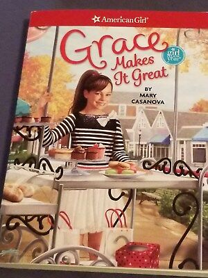 AMERICAN GIRL book GRACE MAKES IT GREAT Girl of the Year sc brand new