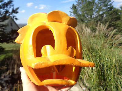 Disney Donald Duck Foam Blow Mold Light Up Halloween Pumpkin Light Trendmasters