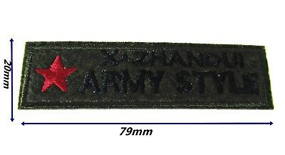 Army Iron Patch Sew Military Embroidered Badge Embroidery Applique Patches 13