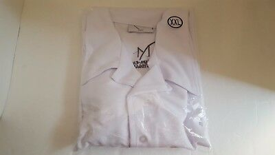 Mirage Resort Spa Casino Las Vegas back Button Down Long Sleeve White Shirt XXL