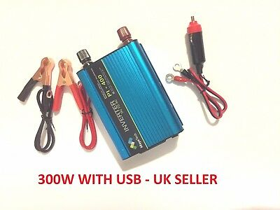 MayaTech Vehicle Power Inverter  600W Peak  12V - 220V Converter + USB