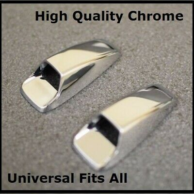Chrome Screen Windscreen Wiper Washer Jet Covers Spray Nozzle  Bonnet 4x4s 4