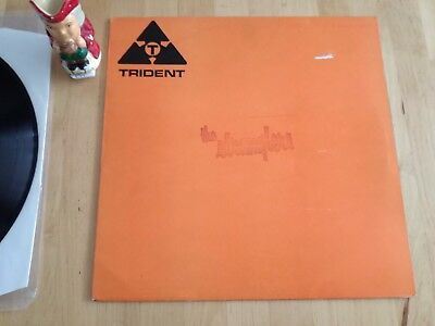 The Stranglers Rattus Norvegicus Trident Studio 2 sided Acetate Ultra Rare LP