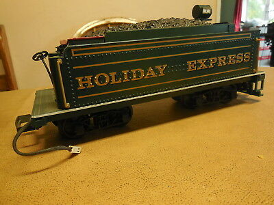 G Scale Bachmann Holiday Express Steam Locomotive Tender Car