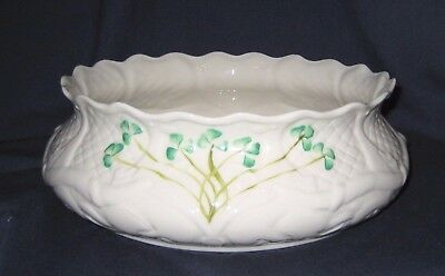 Belleek Shamrock - Dalriada Fruit Bowl (Excellent)