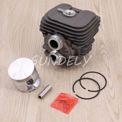 Stihl Ts410 Ts420 Cylinder Head Piston Kit With Rings Pin Clips 50Mm Au Stock