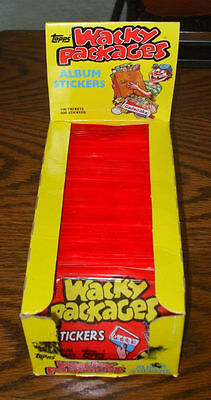 Vintage Topps 1980s RETRO WACKY PACKAGES~New Pack~5 Trading Stickers Lot~80s~NIP