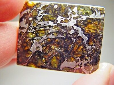 Museum Quality! Large Gorgeous Crystals! Stable! Amazing Admire Meteorite 21 Gms