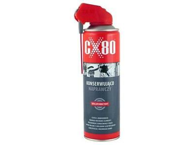 CX-80-DS/500ML Grease spray can 500ml 1.7mm2/s CX80DUO-SPRAY500ML CX-80