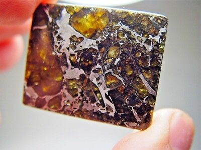 Museum Quality! Large Gorgeous Crystals! Stable! Amazing Admire Meteorite 20 Gms