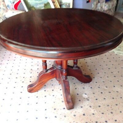 Antique Round Timber DINING TABLE