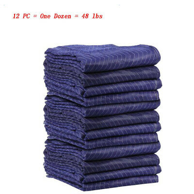 High Quality Moving Blankets Deluxe-12x Protective Shipping 48lbs for One Dozen
