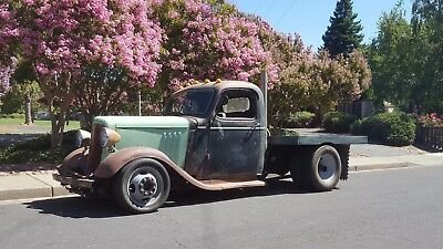 1946 Chevrolet Other Pickups Rat Rod / Hot Rod 1946 Chevy Rat Rod Dually w/ '35 frontend, airbagged, Z'd frame, '89 Chassis
