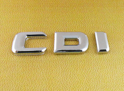 Auto Metal chrome CDI for A C G E S M R CLS GLK W210 W212 Emblem Badge Sticker