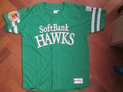 FUKUOKA Soft Bank Hawks - Japanese Baseball Shirt 2012 - Adult Large