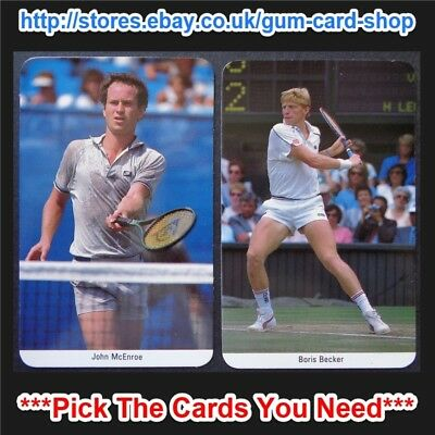☆ Fax-Pax - Tennis 1987 (VG) *Pick The Cards You Need*