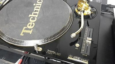 Technics Sl 1200 Gold Limited Edition