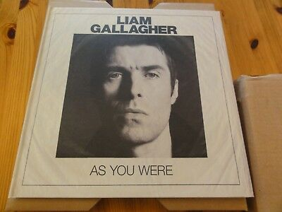 Liam Gallagher - As You Were - Deluxe White Vinyl Box Set - New Sealed