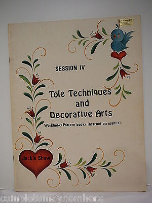 Tole Techniques and Decorative Arts Session 4 by Jackie Shaw