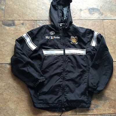 HULL FC BLACK WHITE JACKET COAT    Hooded Size Small AIRLIE BIRDS