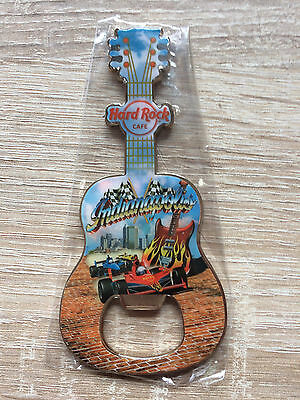 Hard Rock Cafe Indianapolis Guitar Bottle Opener Magnet !! Awesome !!