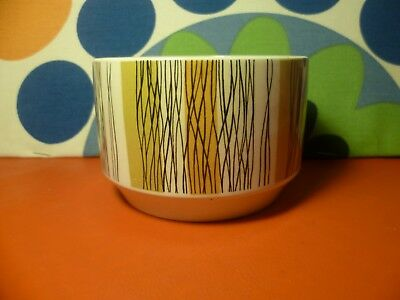 Vintage 1960s Midwinter Sienna Open Sugar Bowl Jessie Tait/Queensbury