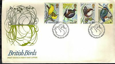 Great Britain First Day Cover 1980 Birds