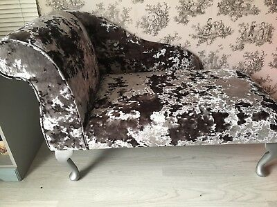 Crushed velvet Small Chais Longue