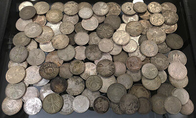 110 Old Germany Silver 2 Marks(40) + 5 Marks(60) + 10 Marks(10) Must See No Rsrv