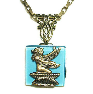Egyptian Revival Isis Necklace