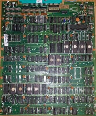 Mr Do arcade game pcb, original.
