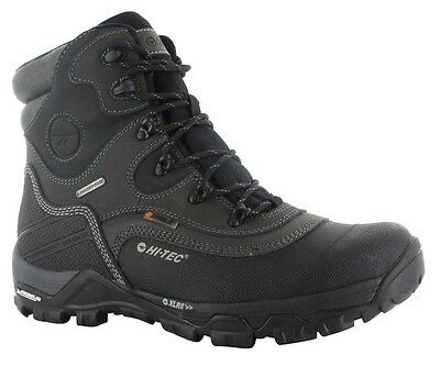 Hi-Tec Trail Ox Winter 200 I WP Boots. 10/11 Black. Waterproof Walking Camping