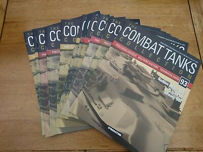 Combat Tanks Magazine Collection (12 issues)