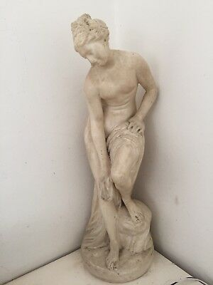 PARIAN WARE The Bather.