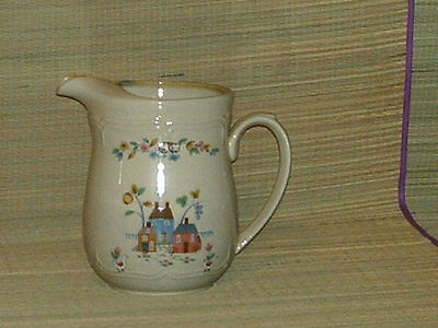 International stoneware beverage pitcher Heartland collection large 64 oz.