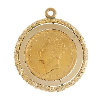 1829 Sovereign George Iv In Mount