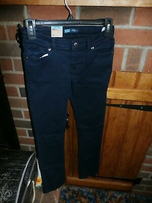 Girls Skinny Jeans by Levis Size 12 Regular   NEW WITH TAGS
