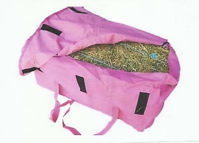 *** Hay Bale Bag *** Denier *** 'pink'
