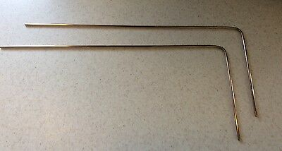5 Sets Brass Dowsing/Divining Rods~Treasure/Ghost Hunt~Spiritual~Water Witching