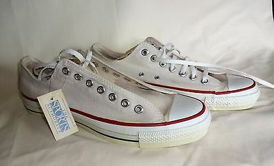 """1980's Converse Chuck Taylor """"All Star"""" Size 10 Basketball Shoes. USA. With Tags"""