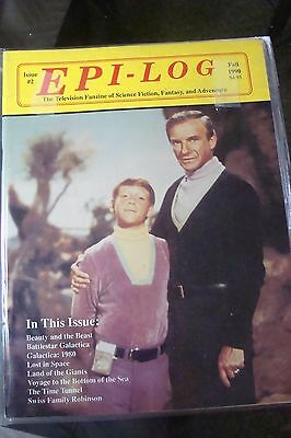 Epi-log LOST IN SPACE Issue 2 1990 Television Galactica Magazine Science Fiction